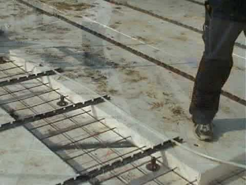 LK Underfloor Heating Install Demo - PE-Xa Pipe in Screed