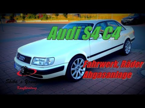 Audi 100 S4 Quattro I Technik Upgrade