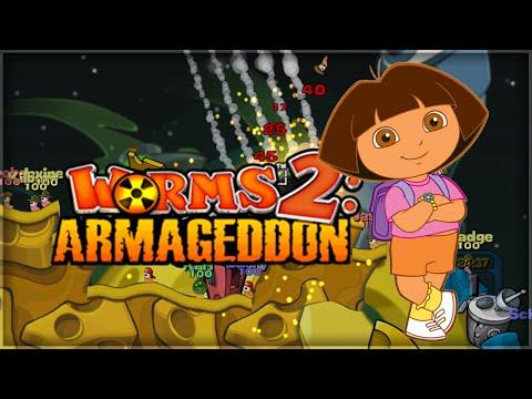 'fuck Dora!' | Worms 2: Armageddon video