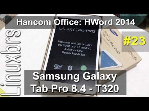 Samsung Galaxy Tab Pro 8.4 - Hancom Office: HWord 2014 - PT-BR - Brasil