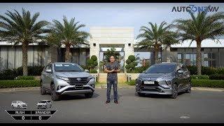 [Autozone.vn] So sánh Mitsubishi Xpander vs Toyota Rush
