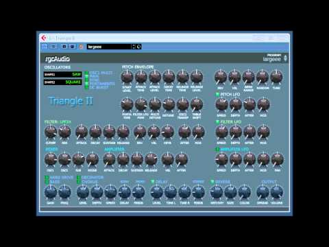 TRIANGLE I I BY RGC AUDIO CAKEWALK video 2.wmv