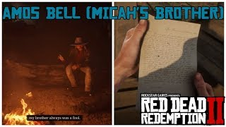 Amos Bell will Kill Micah If he sees Him | Red Dead Redemption 2