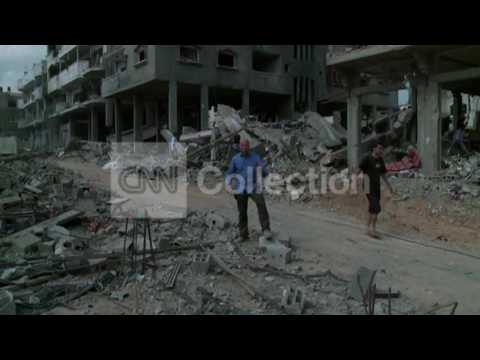 MIDEAST: BACK TO GAZA IN RUBBLE