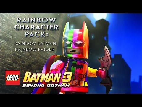 LEGO Batman 3: Beyond Gotham - Rainbow Character Pack Revealed