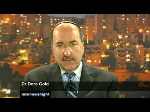 Dore Gold on BBC Newsnight--Iran and Syria Violate UN Resolution 1701