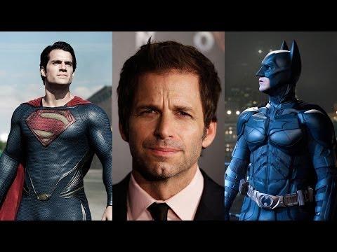 Zack Snyder Talks BATMAN VS SUPERMAN Casting