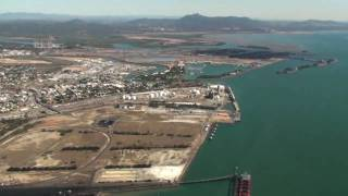 Queensland from the air - Gladstone