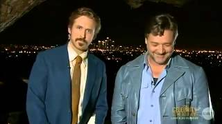 Ryan Gosling Crashes Russell Crowe