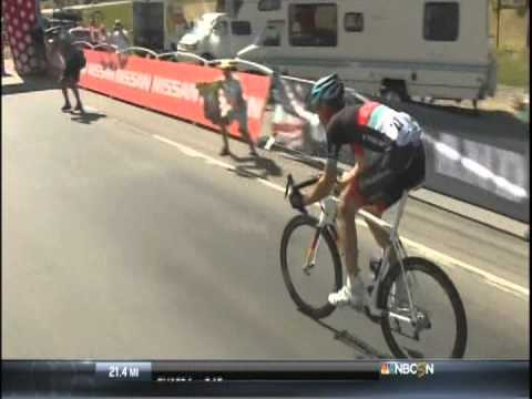 2013 USA Pro Cycling - Stage 3 - Big Jens Voigt summits Rabbit Ears Pass with Field Marshall 50
