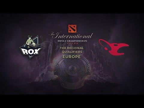 RoX.KIS -vs- Mouz, TI4 EU Qualifier, WB Final, Game 3