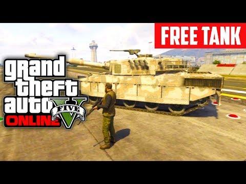 GTA 5 Online: Get A FREE Tank! (Grand Theft Auto V)