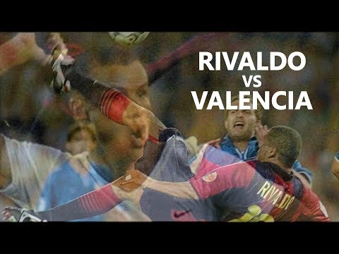 Rivaldo vs Valencia 2000/2001