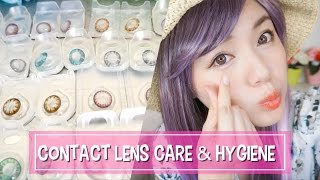 隱形眼鏡清洗+保養教學 How To Clean Contact Lens Tutorial|沛莉 Peri Makeup