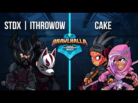 STDX | ithrowowow vs Cake - 1v1 Top 32 Brawlhalla World Championship 2017