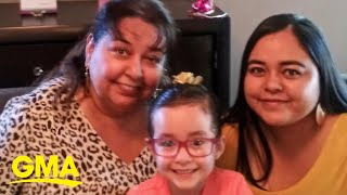 Mom, daughter and granddaughter all share the same birthday l GMA Digital