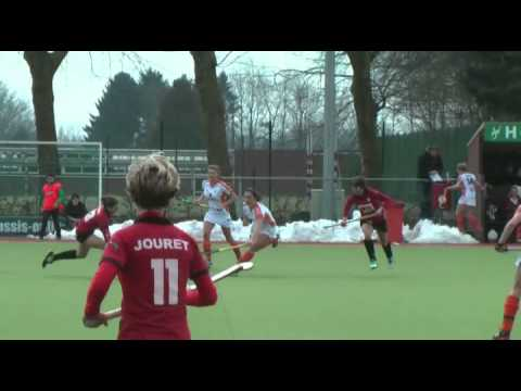 Field Hockey sur Gazon OverBoarder Bourse - Charlotte Verelst Match