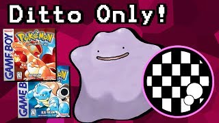 Can You Beat Pokemon Red/Blue With Only a Ditto?