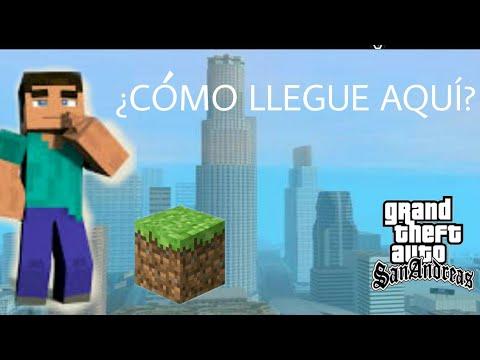 Loquendo GTA San Andreas Steve De Minecraft En San Andreas