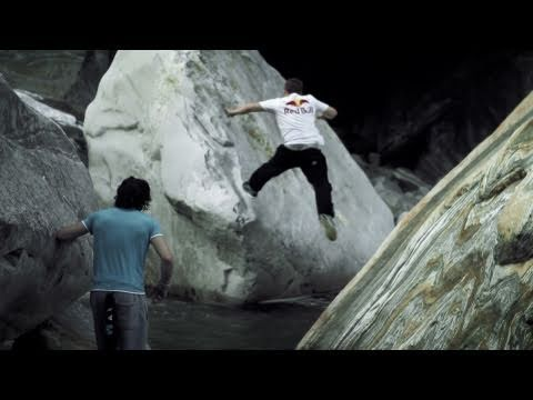 Bringing Parkour Back to Nature - Verzasca Run