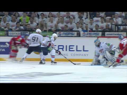 Gagarin Cup Final. Lev Prague - Metallurg Mg 5:4OT. Series 3-3