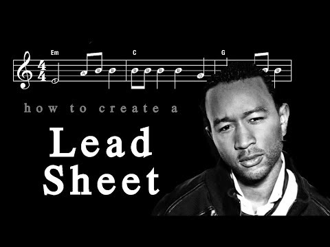 Condensing 18 pages of 'All of Me' into a Lead Sheet