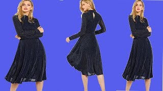 Winter Best Party Dresses For Women For Sale । Long Sleeve Dresses for Stylish For  Winter