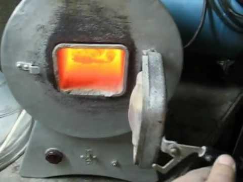 Муфельная печь для плавки металла 87