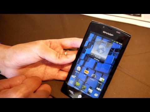 Sharp Aquos SH80F, un smartphone 3D avec conversion en temps réel des contenus 2D vers 3D ! 1/2