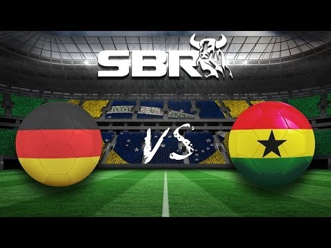 Germany vs Ghana (2-2) 21/06/14 | Group G 2014 World Cup Preview