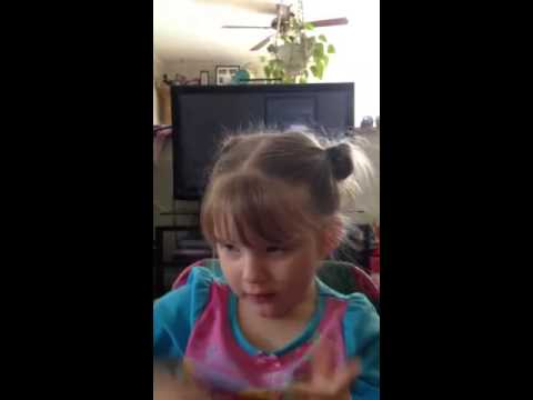 3-year-old Singing Jason Aldean Big Green Tractor. Country Gal video