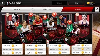 95+ ELITE PLAYERS FOR 30K! NBA LIVE MOBILE ASIA