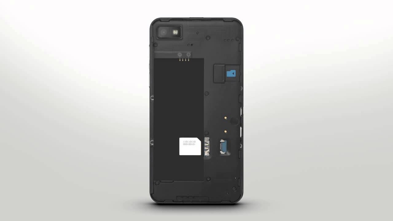 Blackberry Media Media Card Blackberry Z10