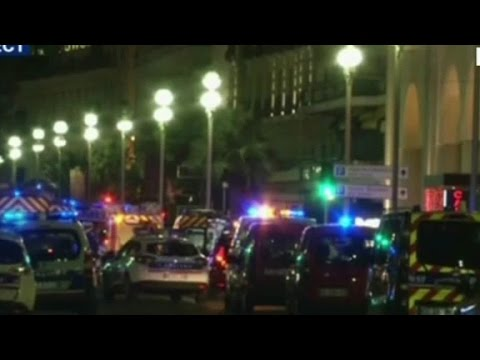 French media: Truck occupants and police exchanged gunfire