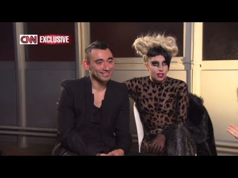 CNN Official Interview: Lady Gaga and designer Nicola Formichetti