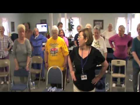 Geneva Senior Citizens Exercise Part 1