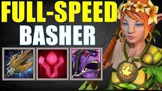 Full-Speed Bash Lady | Dota 2 Ability Draft