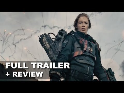 Edge of Tomorrow Official Trailer 2 + Trailer Review : HD PLUS