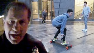 DON'T RIDE BOOSTED BOARD'S IN NYC!