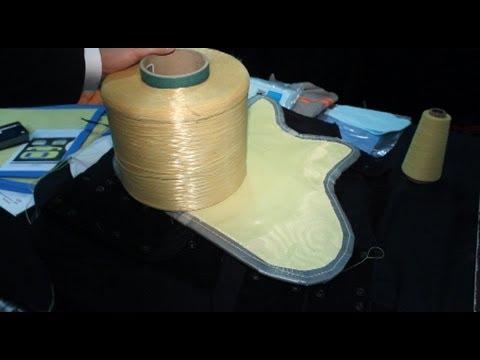 Kevlar: una tecnología de Dupont para chalecos antibalas, coches y celulares