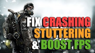 Stuttering/Crashing & FPS Fix - Rainbow Six Siege Settings Guide