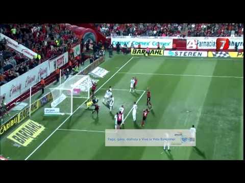 Gol de Darío Benedetto, Xolos 2-1 Gallos Blancos