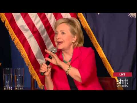 Hillary Clinton doesn't condemn questioner's 'apartheid' slur against Israel