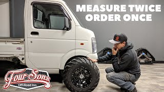 What Tires and Rims Fit on a Mini Truck? (Check out our channel for videos of ATV tires on Trucks)
