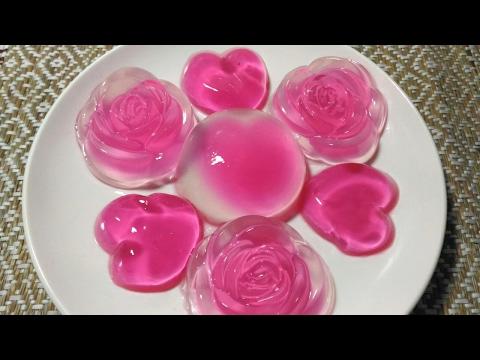 Cara Membuat Pudding Kaca Crystal Mawar Untuk yang Terkasih di hari Kasih Sayang