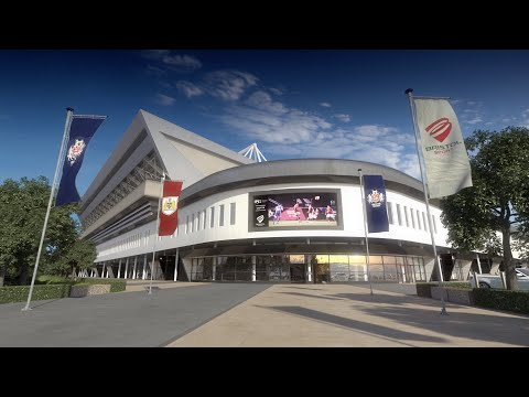 The New Ashton Gate Stadium - 3D Fly-Through