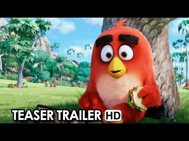 ANGRY BIRDS Teaser Trailer Italiano Ufficiale (2016) HD