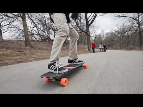 Rybioko Longboarding: Down by the River