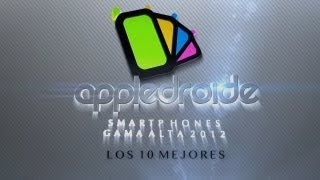 Los 10 mejores smartphones de gama alta 2012