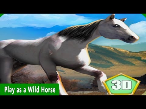 #Animal #Simulator: Wild #Horse  By Wild Animals World Simulation - iTunes/Android